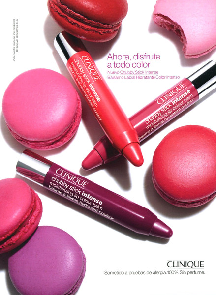 2013 CLINIQUE lipstick Spaib (Glamour)