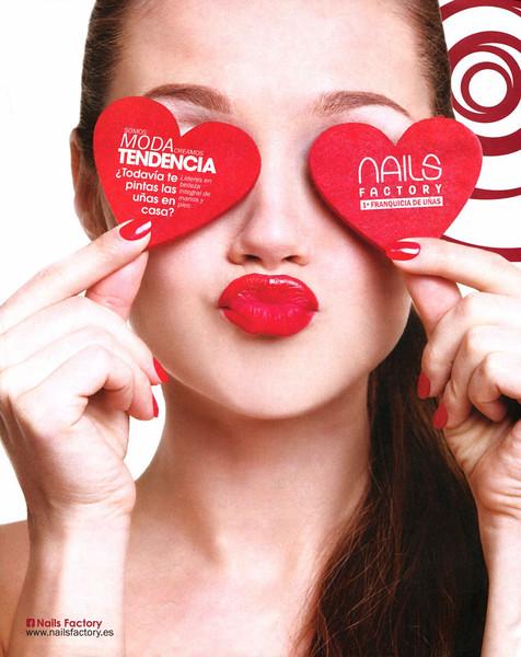 2015 NAILS FACTORY manicure & pedicure salons Spain (Dominical)