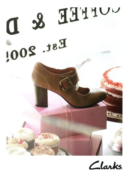 2012 CLARKS shoes: US (Elle)
