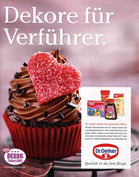 2011 DR OETKER cake decoration Germany (Freundin)