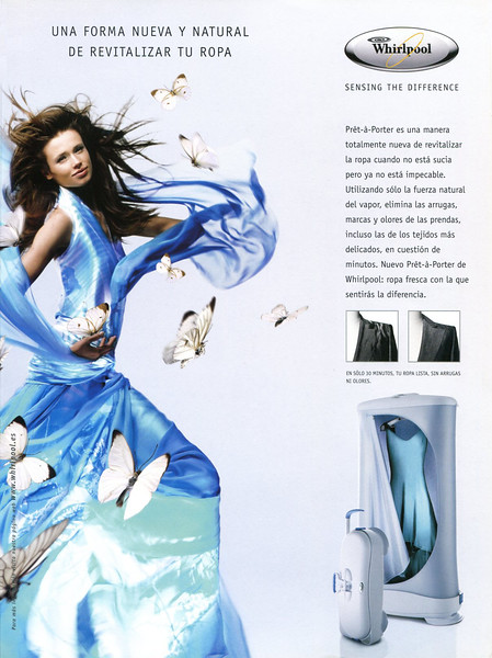 2005 WHIRLPOOL clothes refresher Spain (Citizen K)