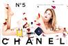 CHANEL Nº 5 Eau de Parfum 1999 France spread 'Nouvelle ligne pour le bain et le corps'