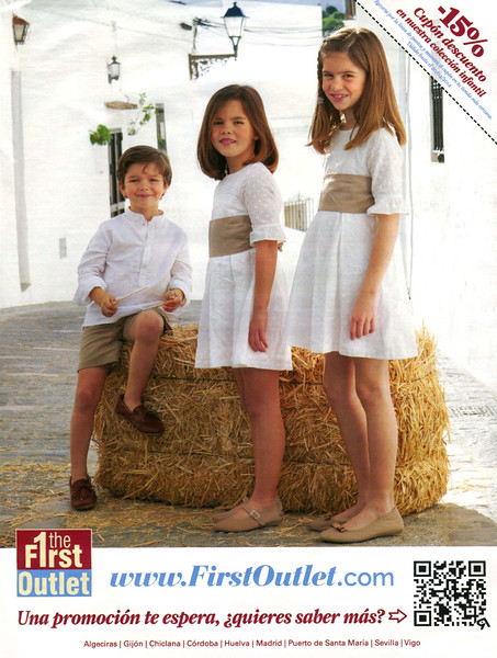 2014 THE FIRST OUTLET children's wear: Spain (Hola Niños)