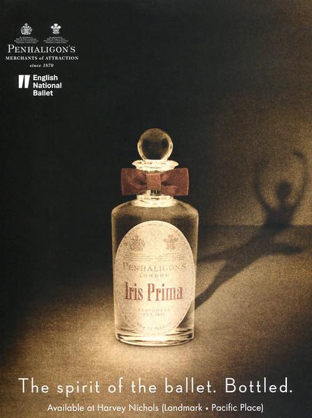 2013 PENHALIGON'S Iris Prima fragrance Hong Kong