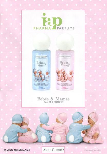 2016  ANNE GEDDES Bebés & Mamás Blue - Pink cologne Spain (Hola)