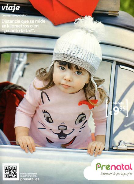 2011 PRÉNATAL children's wear Spain (Woman)