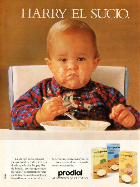 1961 PRODIAL baby food Spain (Lecturas)