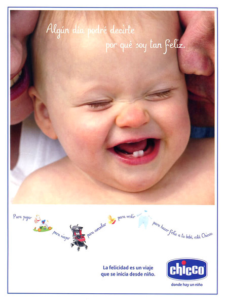 2010 CHICCO baby products: Spain (Elle)