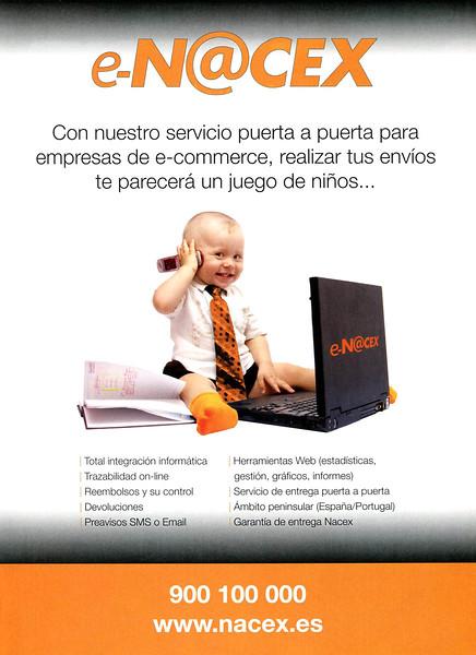 2011 E-NACEX courier services: Spain (Esquire)