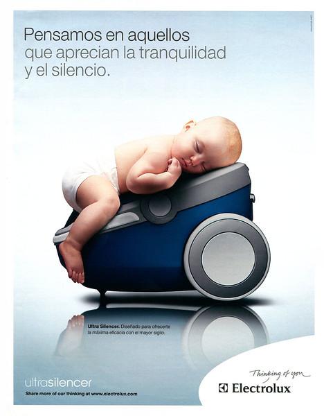 2007 ELECTROLUX vacuum cleaner: Spain (El País lSemanal)