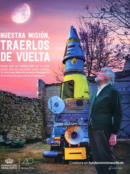 2017 REINA SOFIA FOUBDATION anti-Alzheimer campaign: Spain (YoDona) 'Our mission is to bring them back'
