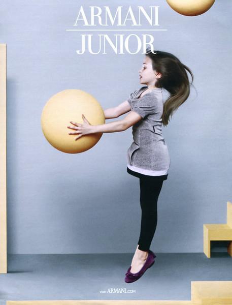 2010 ARMANI Junior children's wear Spain (YoDona)