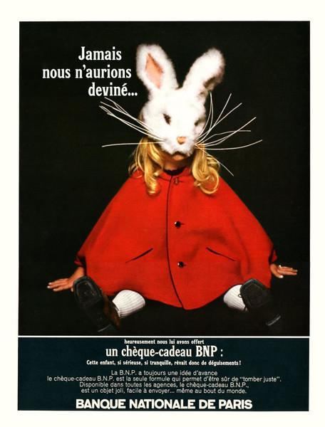 1967 BANQUE NATIONALE DE PARIS gift certificate France (Elle)