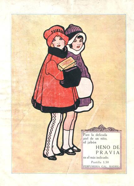 1923 GAL Heno de Pravia soap: Spain (Elegancias)
