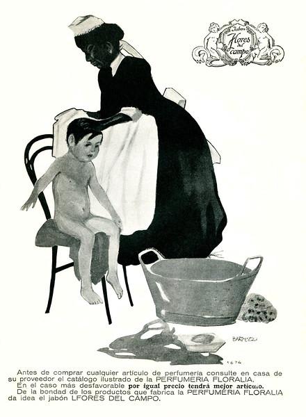 1917 FLORALIA Flores del Campo soap: Spain
