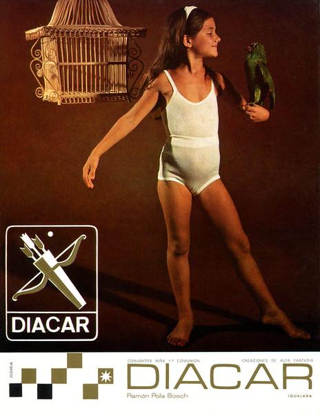 1966 DIACAR underwear Spain (Punto Moda)