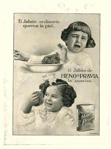 1915 GAL Heno de Pravia soap: Spain