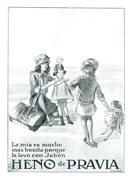 1915 GAL Heno de Pravia soap Spain (Mundo Gráfico)