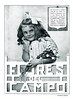 1917 FLORALIA Flores del Campo soap - Eau de Cologne- rice powder Spain (Mundo Gráfico )