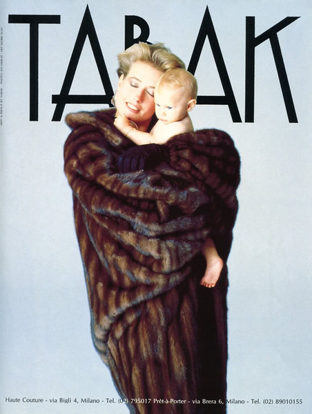 1990 TABAK clothing and jewellery Italy (Donna)