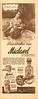 1945 DE NICOLO Miclavel fragrance Argentina (half page Para Ti)