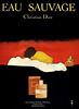 1980 CHRISTIAN DIOR Eau Sauvage cologne: Spain ILLUSTRATO:R René Gruau