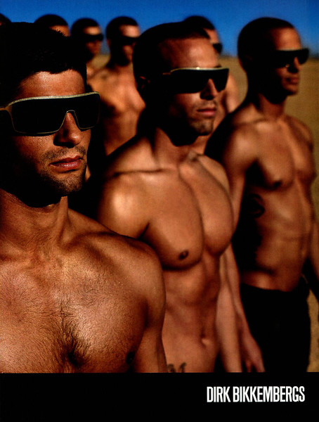 2009 BIKKEMBERGS man's wear Italy (Vanity Fair)