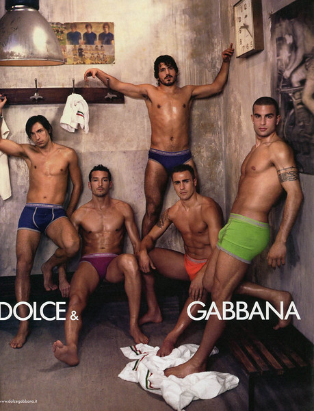 2006 DOLCE & GABBANA underwear France (Nouvel Observateur)