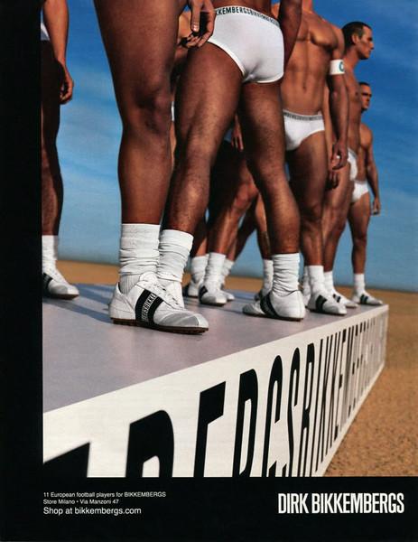 2012 BIKKEMBERGS man's wear Spain (El País Semanal)