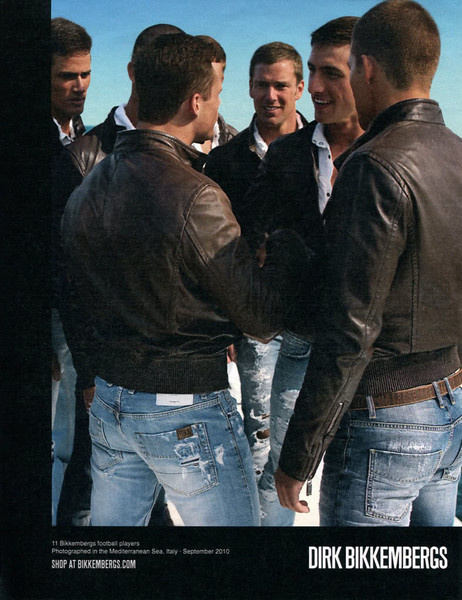 2011 BIKKEMBERGS man's wear Spain (La Vanguardia Magazine)