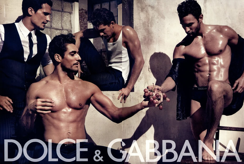 2010 DOLCE & GABBANA man's wear Spain (spread GQ)  featuring David Gandy