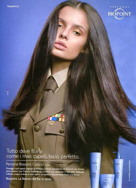 2011 BIOPOINT Control Liss hair care Italy (Gioia)