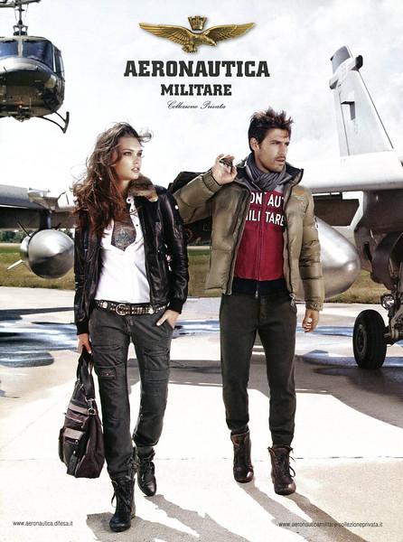 2011 AERONAUTICA MILITARE clothing Italy (Vanity Fair)