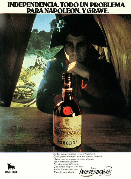 1975 OSBORNE liquors Spain (Gaceta Ilustrada)