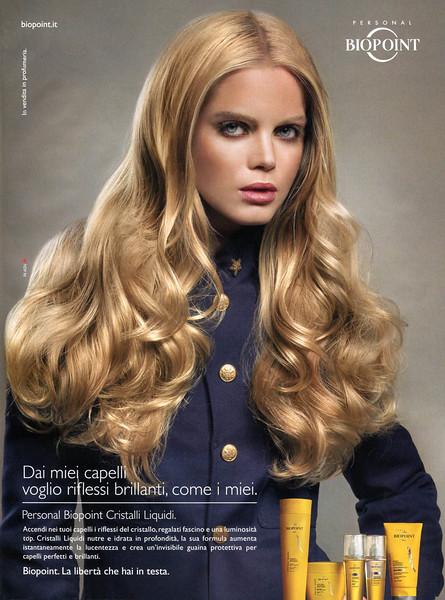 2011 BIOPOINT Cristalli Liquidi  hair care Italy (Gioia)