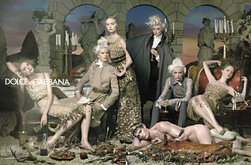 2006 DOLCE & GABBANA Fall-Winter 2006-2007C: Spain spread (Vogue)