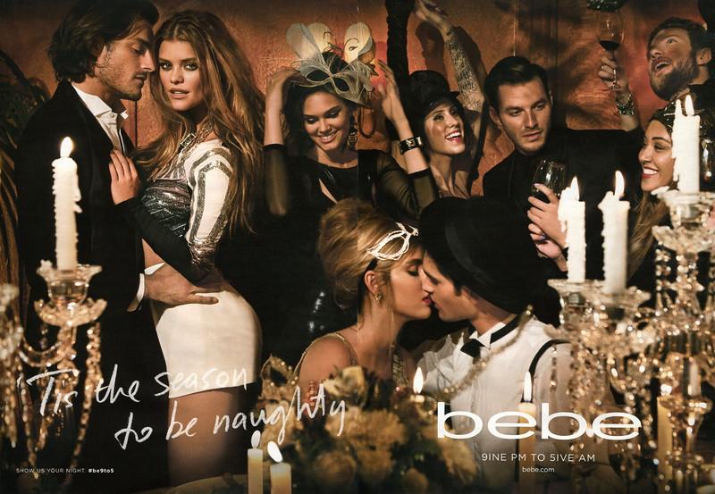 2013 BEBE fashion Fall-Winter 2013-2014 US (spread Cosmo)