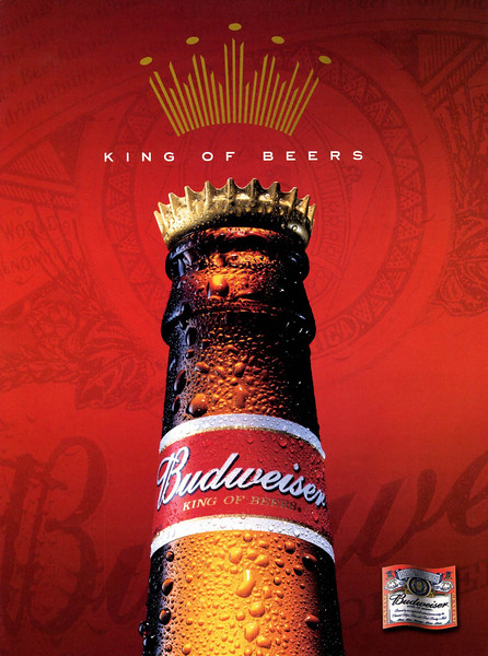 2002 BUDWEIWSER beer Spain (GQ)