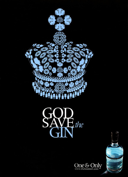 2010 THE LONDON NO 1 gin Spain (Vogue)