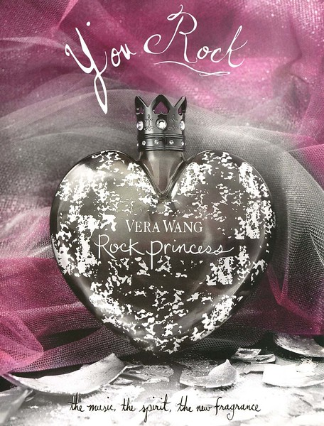 2009 VERA WANG Rock Princess fragrance UK