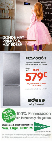 2011 EDESA energetic company Spain (half page Lecturas)