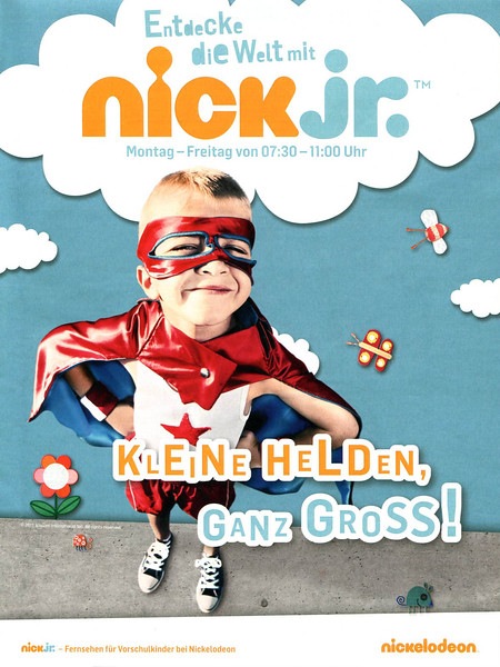 2011 NICKELODEON TV show Germany (Fur Sie)