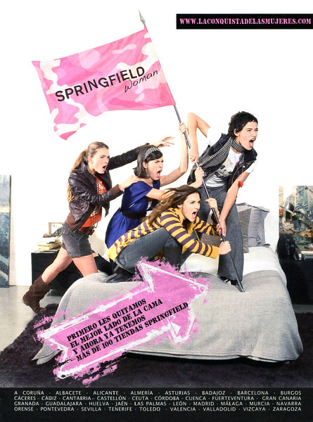 2008 SPRINGFIELD clothing Spain (Glamour)