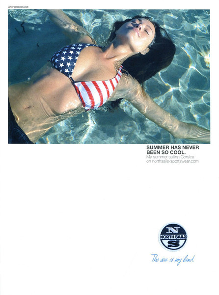 2011 NORTH SAILS swimsuits Italy (Vanity Fair)