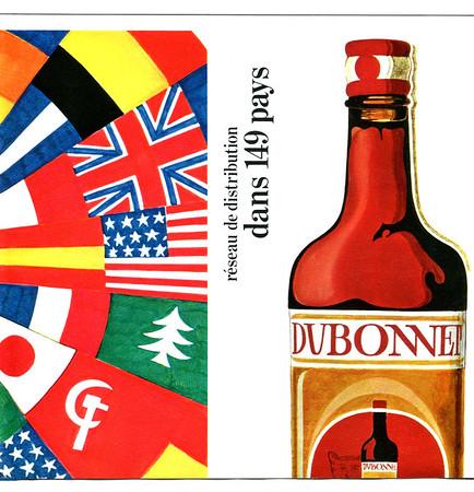 1980 DUBONNET aperitif Spain Dunia