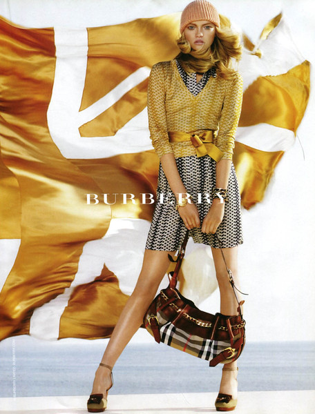 2006 BURBERRY Spring-Summer 2006 Spain (Vogue) featuring Emma Ward
