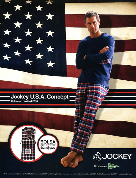 2010 JOCKEYS pajamas Spain (Men's Heath)