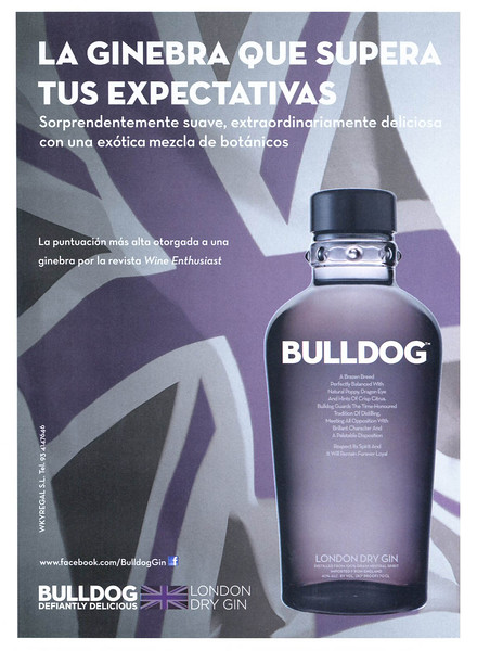 2011 BULLLDOG gin 2011 Spain (Esquire)