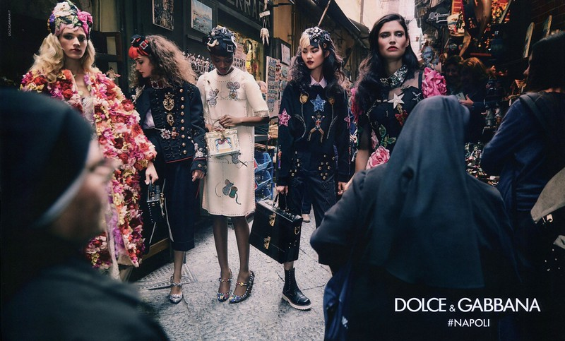 2016 DOLCE & GABBANA fall-winter 2016-2017: Spain (spread SModa)  '#Napoli'