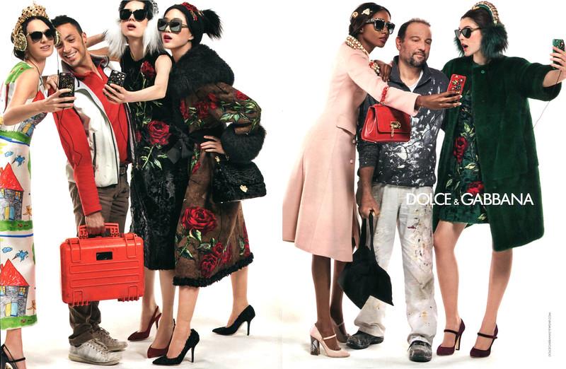 2015 DOLCE & GABBANA Fall-Winter 2015-2016 fashion: Spain (YoDona)